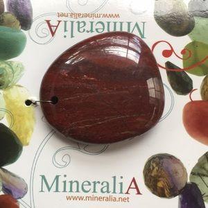 Mineral stone pendant